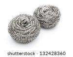 Two Steel Wool Dishwashing On...