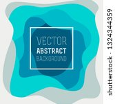 colorful abstract vector... | Shutterstock .eps vector #1324344359