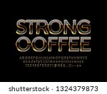 vector luxury emblem strong... | Shutterstock .eps vector #1324379873