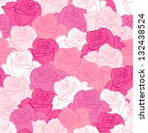 seamless pattern with flowers... | Shutterstock .eps vector #132438524