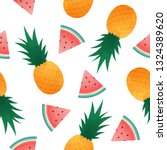 seamless pattern with... | Shutterstock .eps vector #1324389620