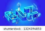 biz secret information idea... | Shutterstock .eps vector #1324396853