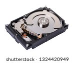 disassembled computer hard...   Shutterstock . vector #1324420949