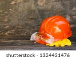 means of protection on an old... | Shutterstock . vector #1324431476