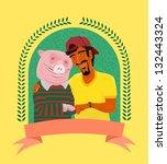 Vegetarian And Pig