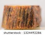 macro photo of agarwood    | Shutterstock . vector #1324492286