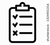 popular checklist icon vector