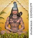 Indian Lord Shiv Shankar ...