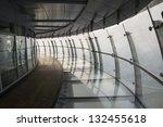 glass corridor in the  business | Shutterstock . vector #132455618