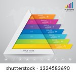 7 Steps Pyramid With Free Space ...