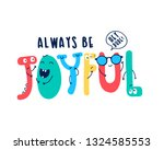 hand writing slogan with... | Shutterstock .eps vector #1324585553