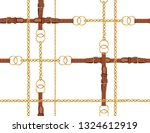 seamless baroque vector pattern ... | Shutterstock .eps vector #1324612919