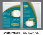 flyer template. brochur design...   Shutterstock .eps vector #1324624733