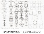 collection of vector... | Shutterstock .eps vector #1324638170
