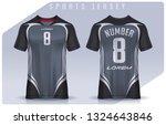 t shirt sport design template ... | Shutterstock .eps vector #1324643846