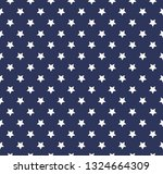 vector pattern with stars.  | Shutterstock .eps vector #1324664309