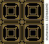 seamless art deco pattern.... | Shutterstock .eps vector #1324666040