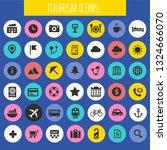big tourism icon set  trendy... | Shutterstock .eps vector #1324666070