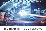 ai  artificial intelligence ... | Shutterstock . vector #1324669940