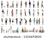illustration of a hobby and... | Shutterstock .eps vector #1324693820