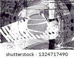 distressed background in black... | Shutterstock . vector #1324717490