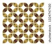 indonesian batik kawung   Shutterstock .eps vector #1324747430