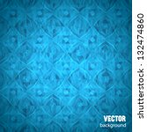 Blue Geometrical Background...