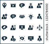 Teamwork Icons Set With Best...