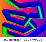 fluid landing page background.... | Shutterstock .eps vector #1324799306