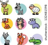 cartoon | Shutterstock .eps vector #132481598