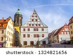 historical market and church of ... | Shutterstock . vector #1324821656