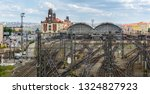 the main central railway... | Shutterstock . vector #1324827923