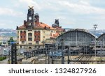 the main central railway... | Shutterstock . vector #1324827926