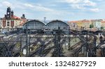 the main central railway... | Shutterstock . vector #1324827929