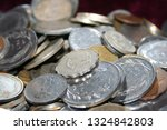old coins collection | Shutterstock . vector #1324842803