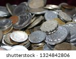 old coins collection | Shutterstock . vector #1324842806