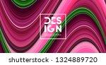 abstract gradient wallpaper.... | Shutterstock .eps vector #1324889720