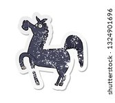 retro distressed sticker of a... | Shutterstock .eps vector #1324901696