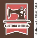 handmade clothes custom...   Shutterstock .eps vector #1324916843