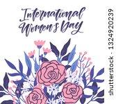 vector international women's...   Shutterstock .eps vector #1324920239