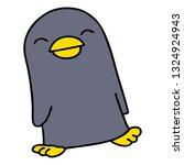 hand drawn quirky cartoon... | Shutterstock .eps vector #1324924943