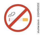 no smoking  smoking is not... | Shutterstock .eps vector #1324950353