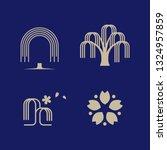 Willow  Tree  Logo Set