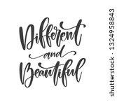 vector hand written quote  ... | Shutterstock .eps vector #1324958843