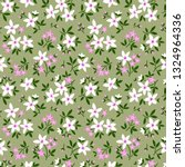 cute floral pattern in the... | Shutterstock .eps vector #1324964336