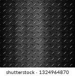 black stainless steel background | Shutterstock . vector #1324964870