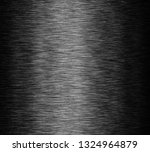 black stainless steel background | Shutterstock . vector #1324964879