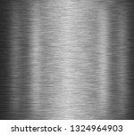 black stainless steel background | Shutterstock . vector #1324964903