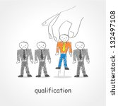 doodle style illustration of a... | Shutterstock .eps vector #132497108