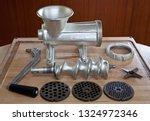 a standard meat grinder...   Shutterstock . vector #1324972346